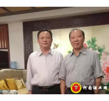 宋河总裁朱景升代表豫酒对话茅台