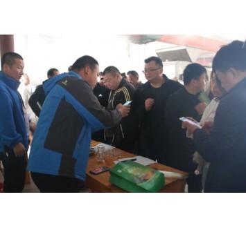驻马店企业家一行走进豫坡集团体验种酒节