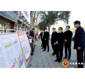 贾湖酒业开展3.15活动引县领导关注